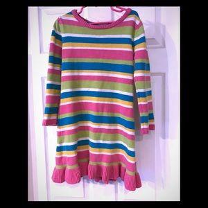 Girls knitted dress! 🎒